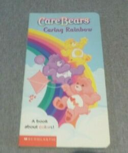 Retro  Care Bear  Book  - Caring  Rainbows  (Time to Sell my Collection)