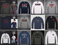 Mens Abercrombie & Fitch by Hollister Long Sleeve T Shirt | A&F Tee | Muscle Fit