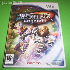 Nintendo Wii PAL version Soul Calibur Legends