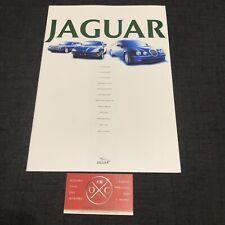 Jaguar XJR S-Type XKR XK8 Brochure Japanese Catalog Prospekt 96 97 98 99 00 01