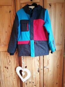 Ladies Girls Winter Padded Ski Style Jacket Age 14 Free P&P
