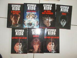 lot 7 livres STEPHEN KING grands formats - Rage ...