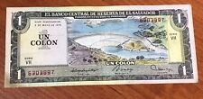 EL SALVADOR BANKNOTE  - 1 COLON - DIFFERENT PREFIXES/YEARS - CRISTOBAL COLON