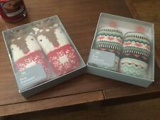 2 X Boxed -  Aroma home @ John Lewis shoe fresheners pairs KNITTED  GIFT RRP £15