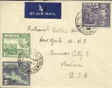 Malta 2/value-SG#228(scarce)#219a,#222a PRINCE of WALES ROAD-SLIEMA