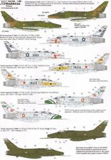 Xtradecal 1/48 F-100D Super Sabre Part 3 In Foreign Service # 48085
