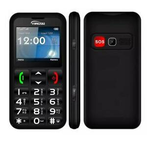 T-Mobile Senior Cell Phone Big Button SOS GSM 2G Unlocked Cell Phone For SeniorA