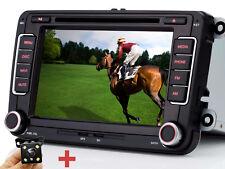 """Rückfahrkamera+ 7""""HD Autoradio GPS DVD Für VW Seat Skoda Passat CC EOS Golf Polo"""