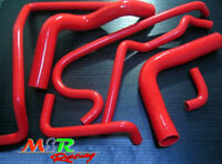 for Holden VR VS VN VP V8 5.0L SS 304 5L silicone radiator hose red
