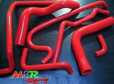 for Holden VR VS VN VP V8 5.0L SS 304 5L silicone radiator hose red