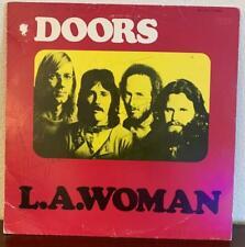 THE DOORS LA WOMAN SIGNED X3 DENSMORE MANZAREK KRIEGER LP JACKET COA