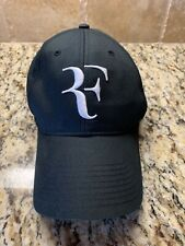 Nike Roger Federer Tennis Hat Cap Black NikeFIT Dri-fit RF