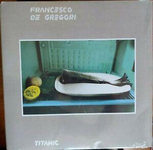 """LP FRANCESCO DE GREGORI """"TITANIC"""" -  VINILE180 GR NUOVO COPERTINA SEGNATA"""