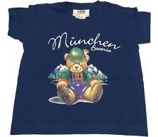 Munich TS Ki TRA Oso MÜ bav Niños Camiseta manga corta azul T.92
