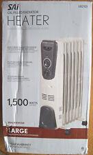 SALE!  NEW Sai Oil-Filled Radiator Heater – 1500 Watts - 680121
