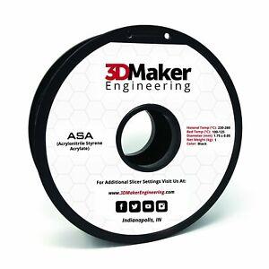 ASA Pro Series 3D Printer Filament - 3DMaker Engineering
