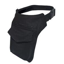 Gürteltasche GOA Sidebag Seitentasche Hüfttasche Tasche Bauchtasche Bag schwarz