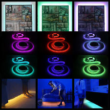RGB LED Leiste Streifen Band Strip 5050 SMD 60 LED/m +Trafo 12V 5A 60W Netzteil