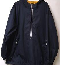 Starter Marque Vintage Homme Taille XL Bleu & Jaune 1/4 Éclair Veste Coupe-Vent
