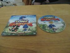 Sonic Boom DVD  TV Episodes Features Shadow & Metal Sonic