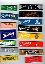 15  Different - Smoking brand - Cigarette rolling papers