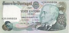 PORTUGAL : 20 ESCUDOS 4-10-1978 SPL+ - P.176b
