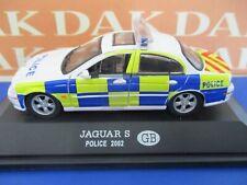 Die cast 1/43 Modellino Auto Polizia Police Jaguar S United Kingdom 2002