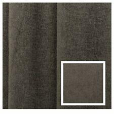 Pigeon Grey Linen blend plain velvet Curtain Fabric Upholstery Cushion Material