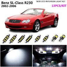 13Pcs LED Xenon White 6K Interior Light Kit Fit For 2002-2006 Benz SL-Class R230