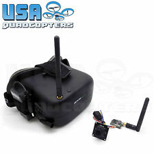 Eachine 5.8G FPV System with VR-007 Goggles 700TVL HD Camera and 200mW 40Ch Tx