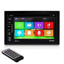 NEW Car Audio Media Head Unit.Dual Din.Amplifier Receiver.FMAM.Bluetooth.