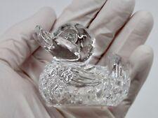 Vintage Original 1979 GOEBEL Lead Crystal DUCK Figurine Paperweight