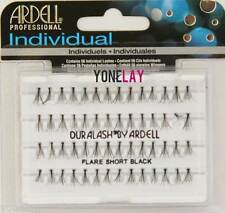 ARDELL DURALASH Individual Flare SHORT Black Eyelashes