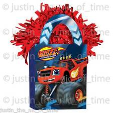 BLAZE & THE MONSTER MACHINES Boys Party Happy Birthday Balloon Weight