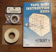 Dollhouse Conductor Tape Wire Miniature 29 ft. & 5 ft. rolls instruction Book