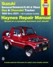 Haynes Manuals: Suzuki Samurai & Geo/Chevy Tracker 1986-2001