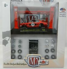 1:64 M2 Machines *JAPAN MODEL KIT* RED 1977 Nissan Skyline GT-R #77 Race Car NIB