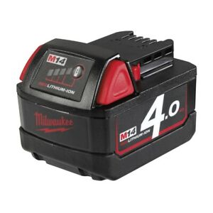 Milwaukee M14 B4 (14,4 V/4.0 Ah Li-Ion) Red Li-Ion Akku Batterie Ersatzakku