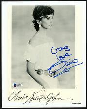 "Olivia Newton John Autographed 8x10 Photo Musician ""To Craig"" Beckett H44321"