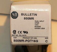 ALLEN BRADLEY 800MR-PDT16G PILOT LIGHT NIB