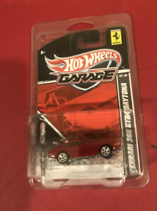 HOT WHEELS GARAGE FERRARI 365 GTB4 DAYTONA REAL RIDERS METAL 1/64