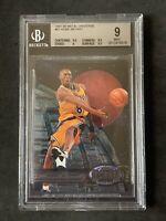 1997-98 Kobe Bryant Metal Universe #81 BGS 9 MINT Low Pop  Lakers Mamba