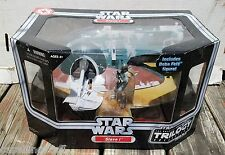 Star Wars ORIGINAL TRILOGY SLAVE 1 Vehicle Ship with BOBA FETT Figure New OTC