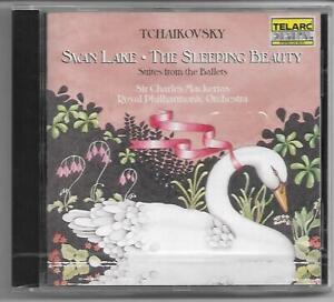 TCHAIKOVSKY - Swan Lake/Sleeping Beauty - CD 1987  Telarc NEU/OVP/NEW  Mackerras
