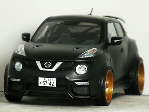 1:18 AUTOart Custom NISSAN Nismo JUKE R (Black) VOLK TE MODIFIED TUNING RS GT-R