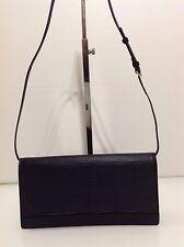 Auténtico Louis Vuitton Honfleur de Hombro Bolso Clutch Cuero Negro. Epi. Excelente Estado