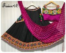 Gujarati  Blouse stitched n work Lehenga Kutch work with embroidery patch work