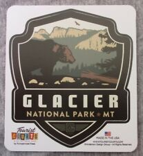 Glacier National Park Vinyl Sticker New