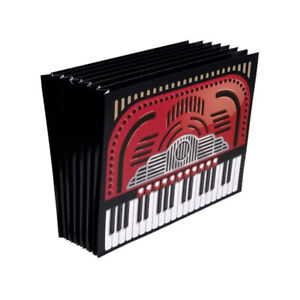 """Accordion File by GamaGo, 10"""" x 13"""", Letter Size, expandable file organizer"""