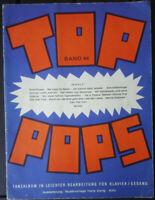 TOP POPS Band 44 - Tanzalbum in leichter Bearbeitung für Klavier und Gesang